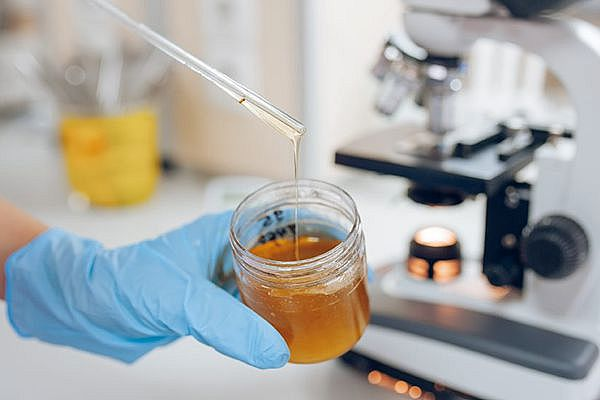 как определить сахар в мёде