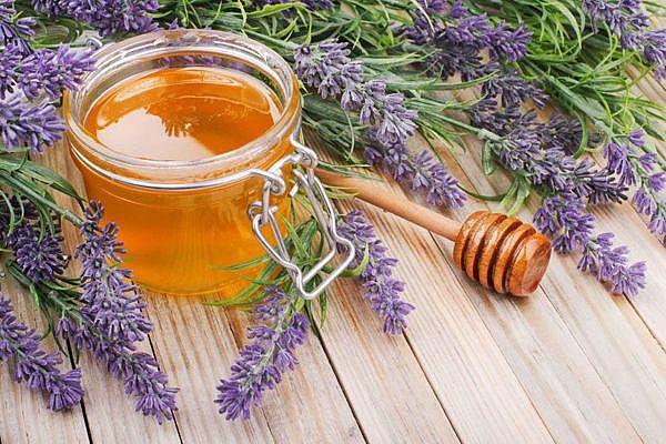 мёд с травами