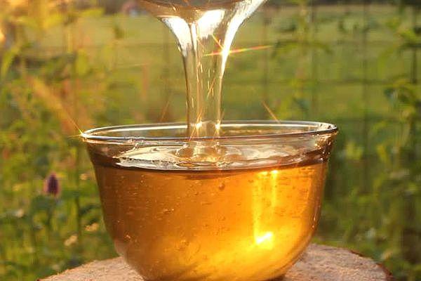 мёд на солнце