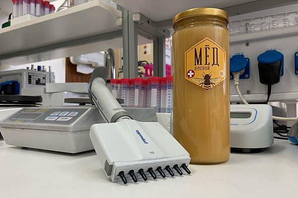 наш мёд в Институте молекулярной биологии Академии наук Словакии
